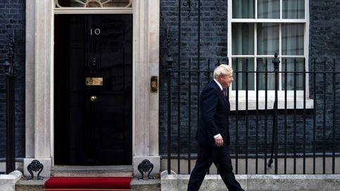 El emir de catar visita al primer ministro británico Boris Johnson