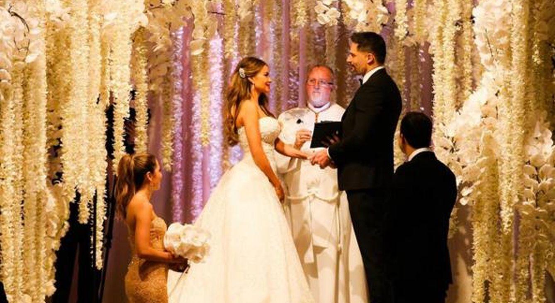 Foto: Así fue la boda de Sofía Vergara y Joe Manganiello, según lo publicado en las redes sociales