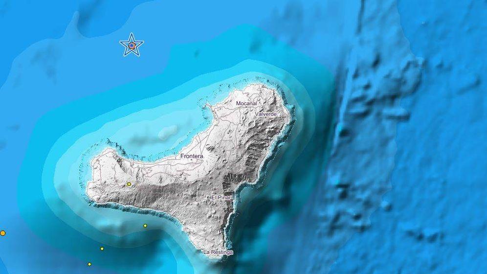 Foto: Terremoto en El Hierro. (IGN)