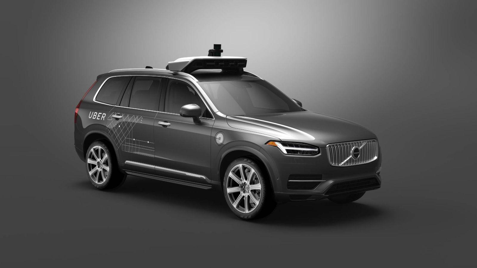 Foto: Proyecto conjunto de Volvo y Uber