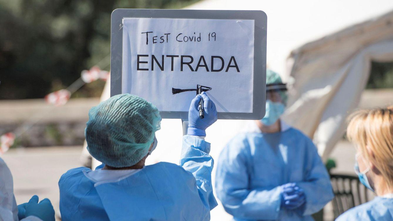 Foto: Tests rápidos para identificar el covid-19 en Menorca. (EFE)