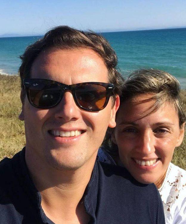 Foto: Rivera y Tajuela durante sus vacaciones.(Instagram)