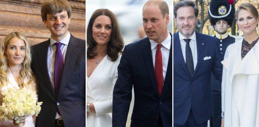 Foto: Ernesto de Hannover y Ekaterina, los duques de Cambridge y Magdalena y Chris O'Neill. (Gtres)