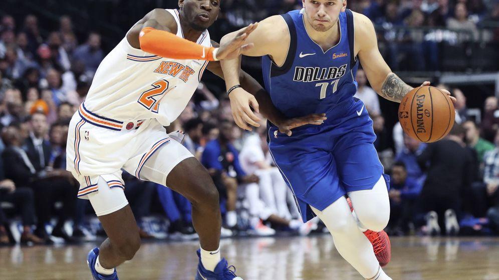 Foto: Luka Doncic está siendo el jugador más utilizado por los Dallas Mavericks en el comienzo de temporada. (USA TODAY Sports)