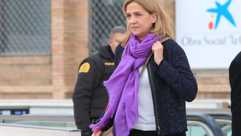 El buenos días de la infanta Cristina al ser preguntada por la sentencia del caso Nóos