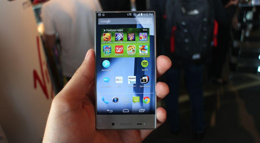 Móviles: Sharp Aquos Crystal X, el smartphone sin marco