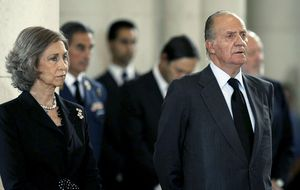 Don Juan Carlos y Doña Sofía asistirán al funeral de Fabiola de Bélgica en Bruselas