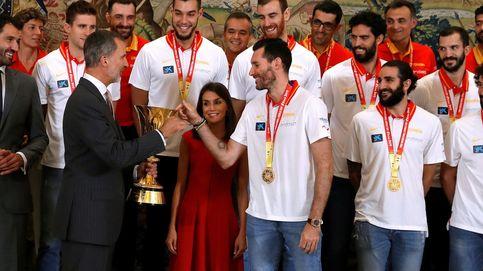 La celebración de la Selección: Felipe VI y la reina Letizia reciben a los campeones