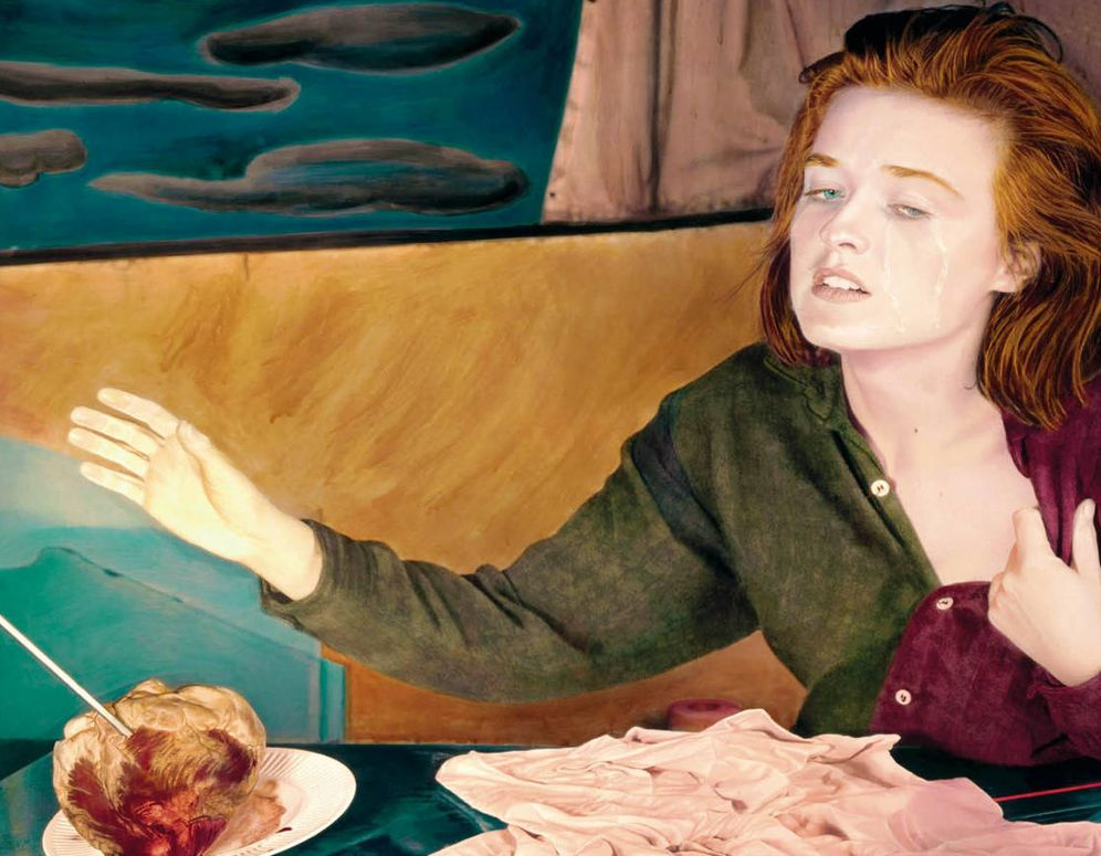 Foto: Detalle de portada de 'Amor intempestivo', obra de Ouka Lele. (Tusquets)