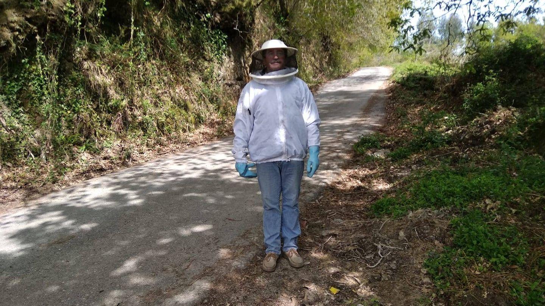 Tucho (62 años), carnicero jubilado y apicultor.