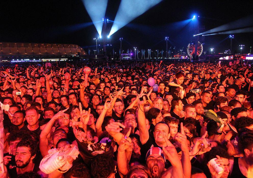 Foto: Público de Rock in Río en Brasil (EFE)