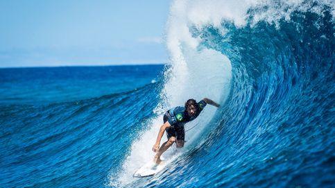 Campeonato de surf en la Polinesia Francesa