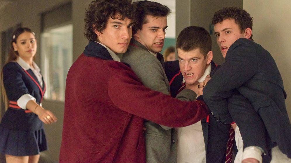 Foto: Imagen de la segunda temporada de 'Élite'. (Netflix)