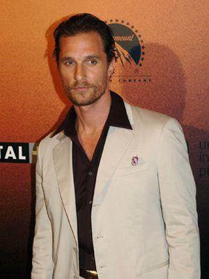 Matthew McConaughey se corta la cara entrenándose para una película