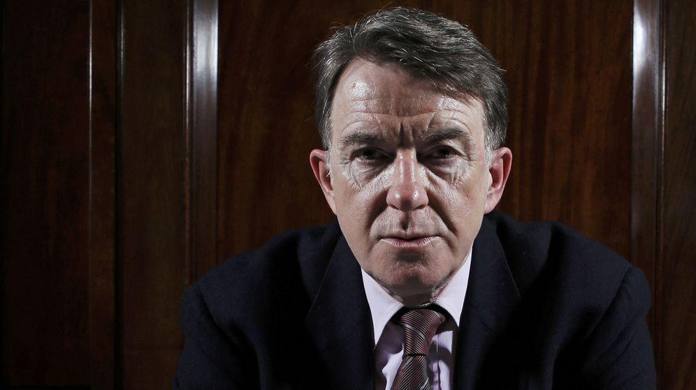 Foto: Peter Mandelson, en una entrevista en 2013. (Reuters)