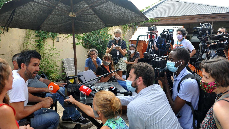 La rueda de prensa del doctor Luque (EFE)