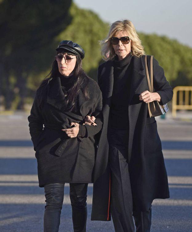 Las actrices Bibiana Fernández y Rossy de Palma