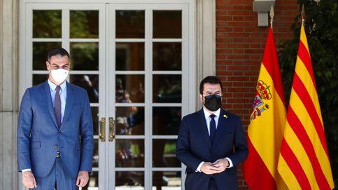 Sánchez y Aragonès, amigos para siempre