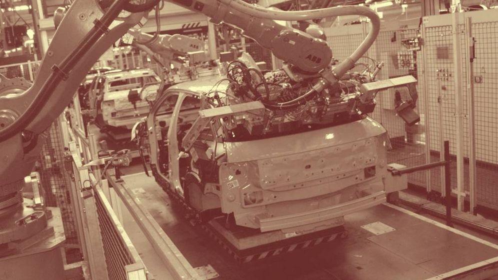 Foto: Imagen de una fábrica.