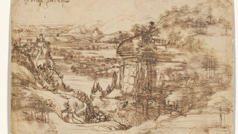 La obra que demuestra que Leonardo Da Vinci no era zurdo, sino ambidiestro