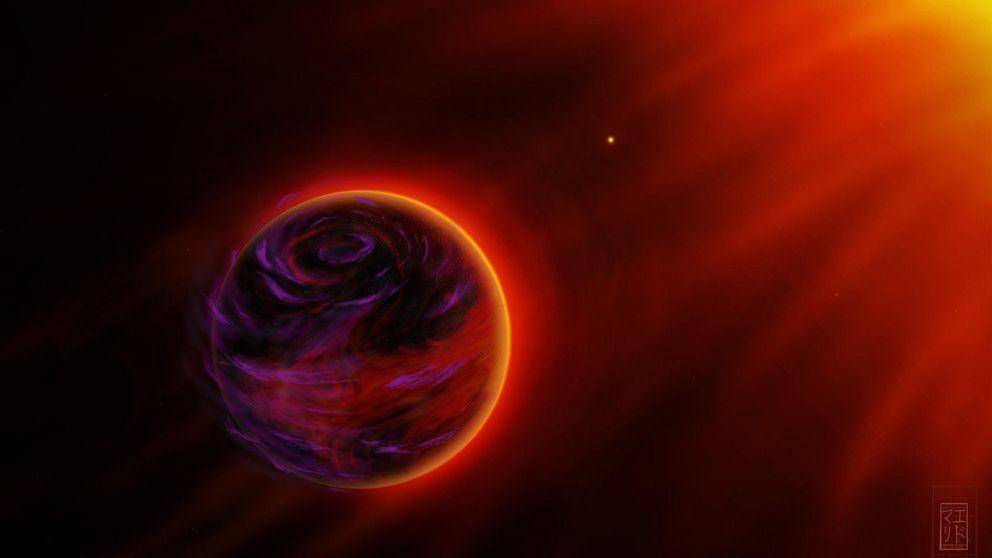 Órbitas 'al horno': la extraña ruta de un planeta que roza su estrella