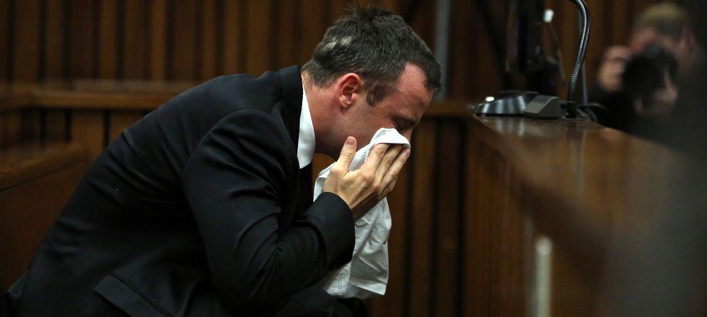 Foto: Oscar Pistorius en el juicio. (Gtres)