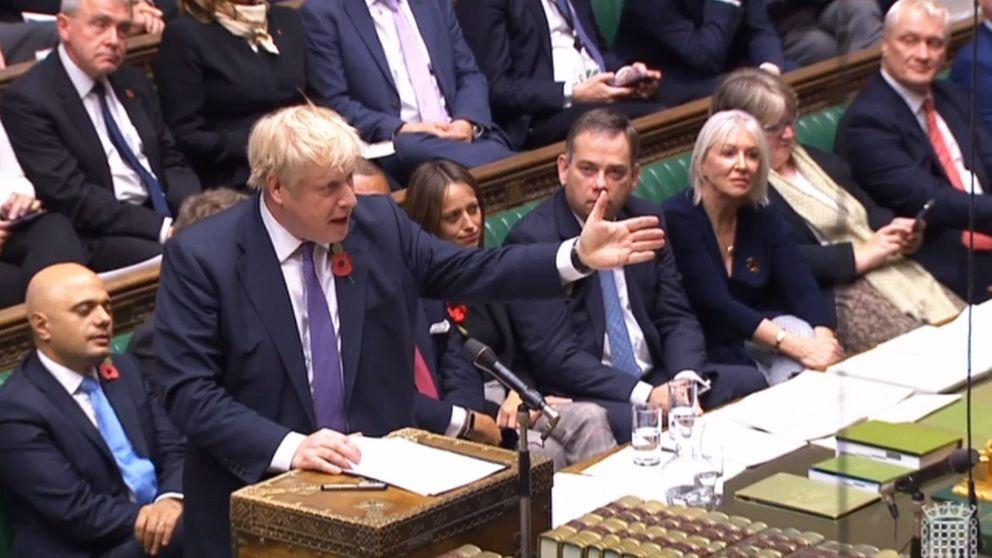 La penúltima derrota de Boris Johnson antes de su gran victoria para ejecutar el Brexit