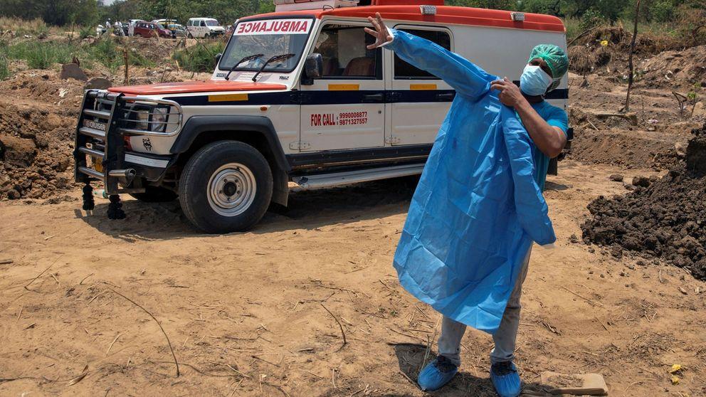 De taxista a transportista de cadáveres por culpa del coronavirus en India