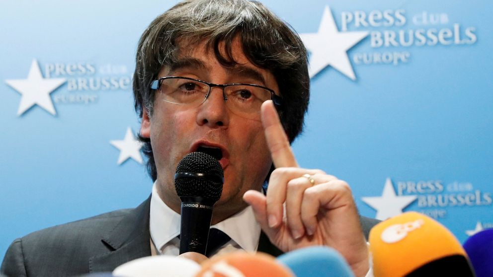 Puigdemont acusa a Rajoy de aplicar represión y sumisión en Cataluña