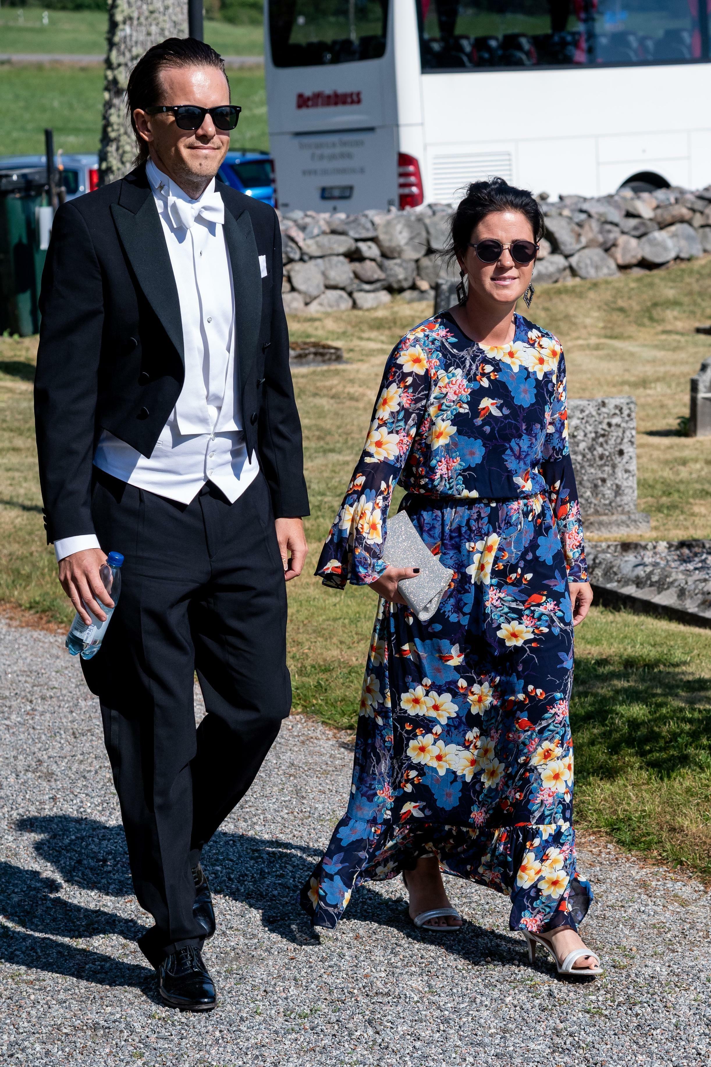 Emma Pernald y su marido. (Dana Press)