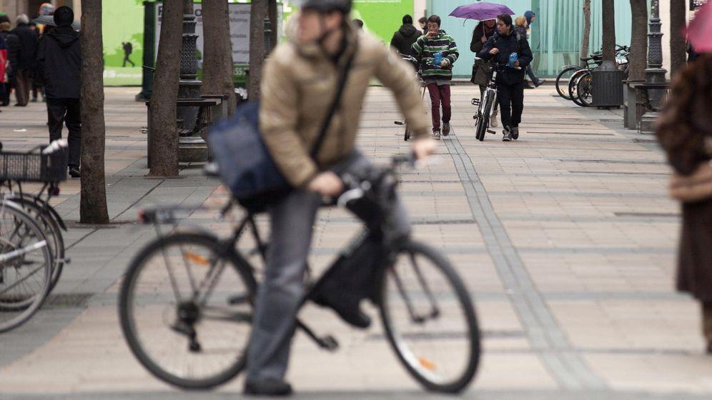 Foto: La bici, un vehículo sostenible y saludable.Foto: EFE/David Aguilar