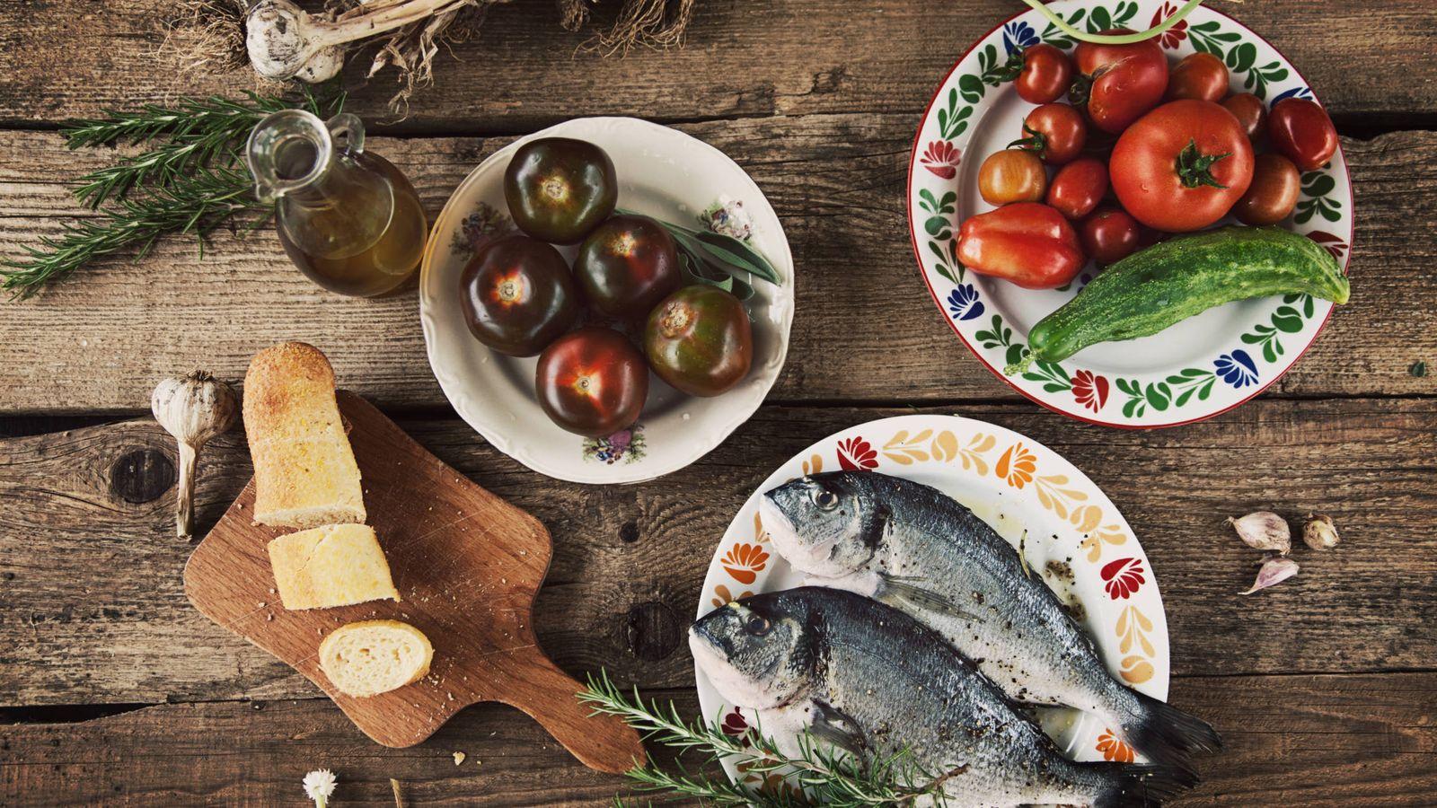 Foto: Un bodegón de dieta atlántica... (¿o mediterránea?).