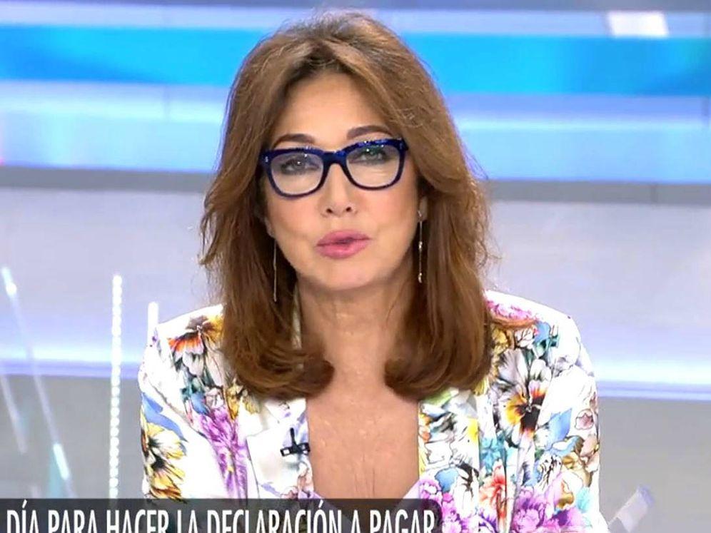 Foto: Ana Rosa Quintana en 'El programa de Ana Rosa'. (Mediaset España)