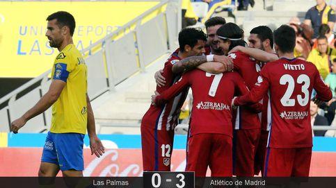 El Atlético de Madrid hace el mejor fútbol posible para seguir siendo líder