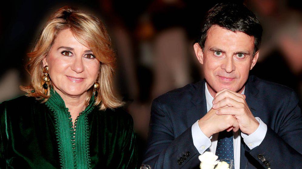 Foto: Manuel Valls y Susana Gallardo. (Getty)