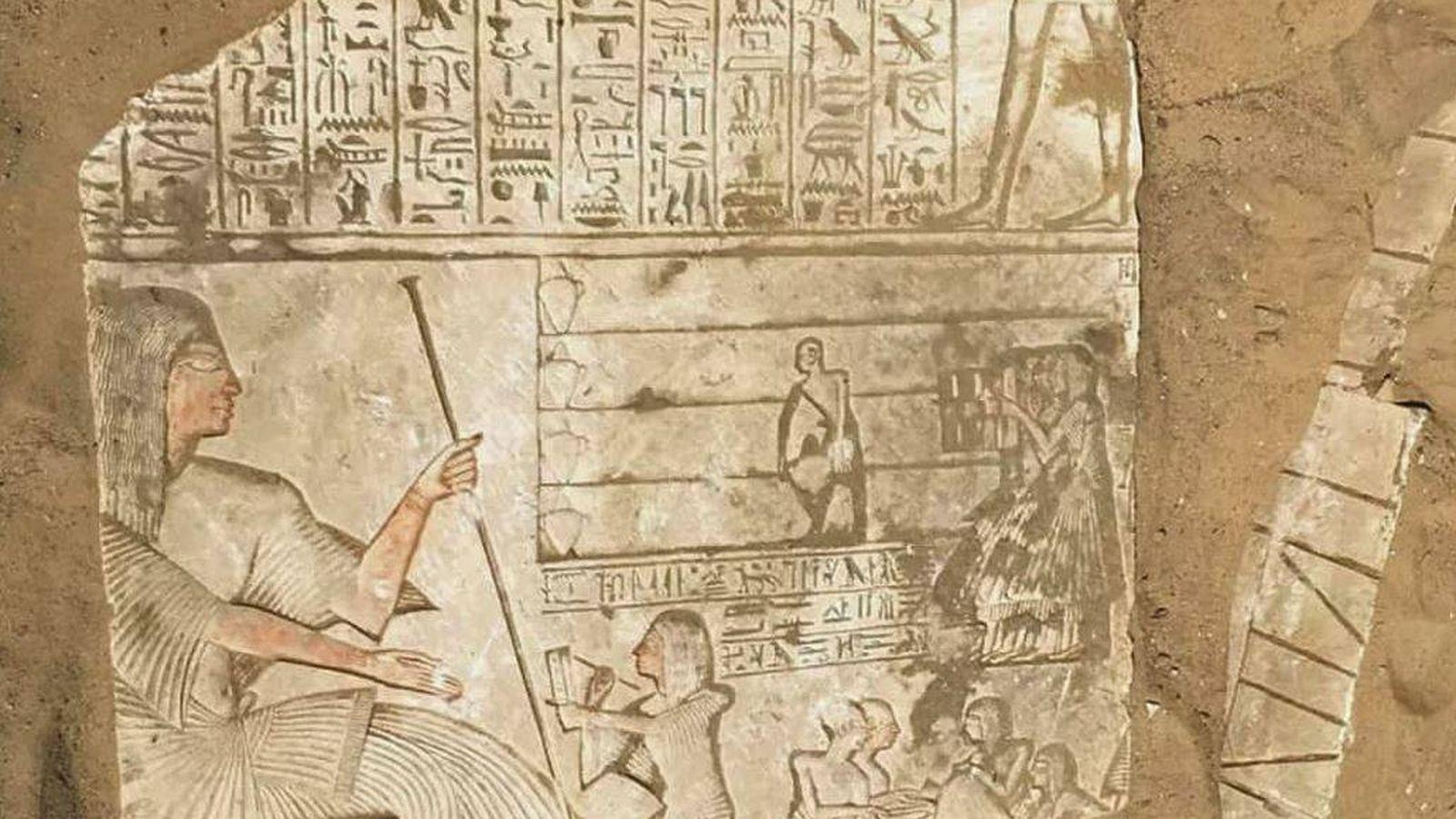 Foto: Foto: Ministerio de Antigüedades egipcias.
