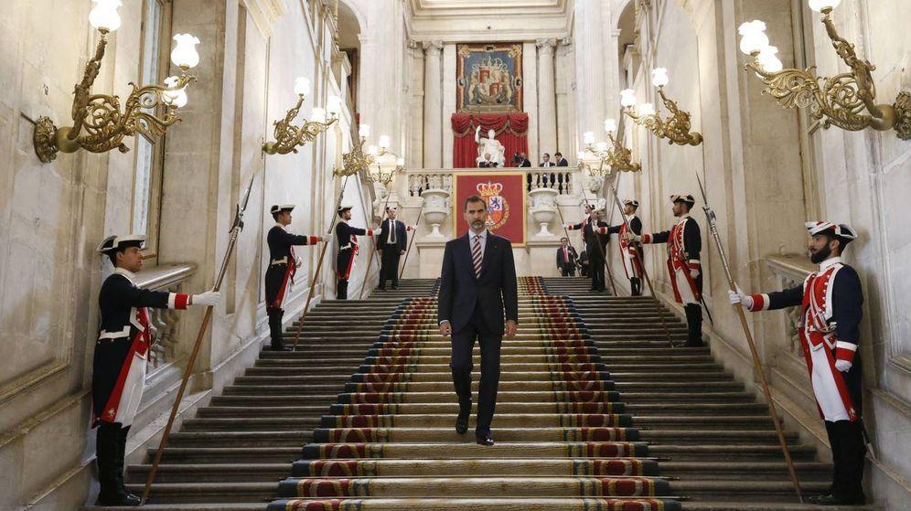 Foto:  El rey Felipe VI en el Palacio Real. (Archivo de la Casa Real)