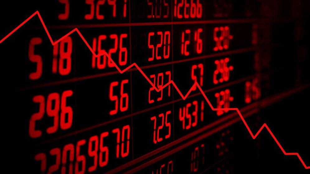 Foto: Caídas en los mercados. (iStock)