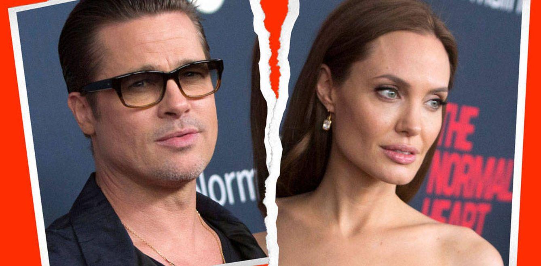 Foto: Brad Pitt y Angelina Jolie (Fotomontaje de Vanitatis)
