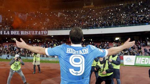 Higuaín se desquitó del Mundial y de Benítez para sentirse como Maradona