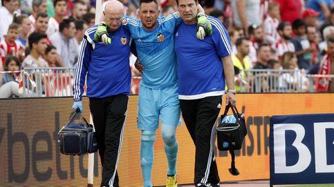 Diego Alves tiene roto el ligamento cruzado y dice adiós a la Copa América