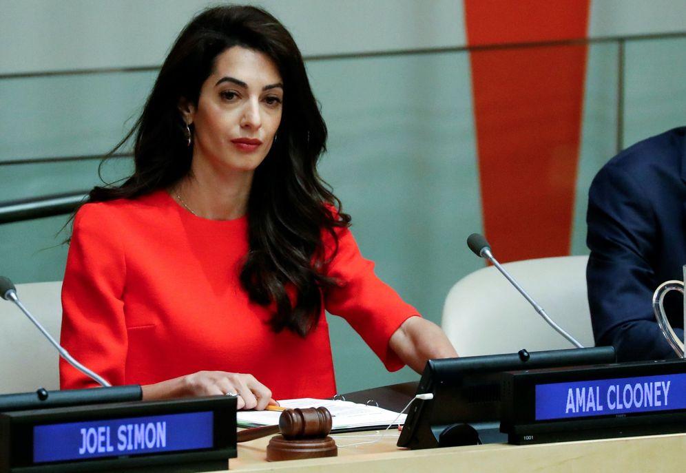 Foto: Amal Clooney. (EFE)