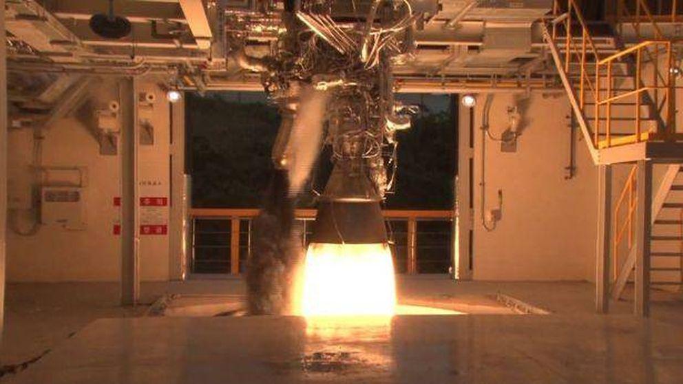 Así se prueban los motores de los cohetes que van al espacio: ruido, fuego y calor a raudales
