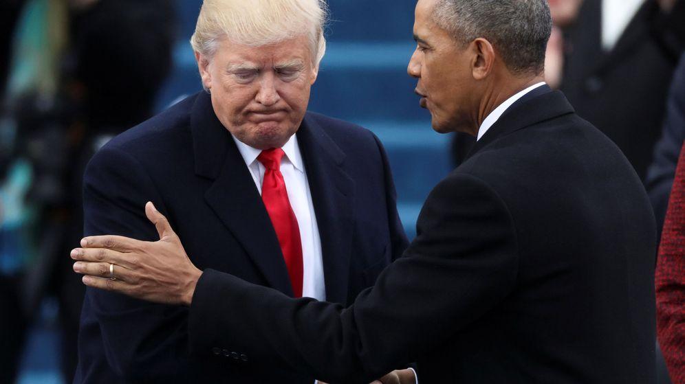 Foto: Donald Trump, junto a su predecesor, Barack Obama. (Reuters)