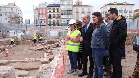 El fiasco de la plaza natal de Picasso: agujero de 20 millones y ahora una de romanos