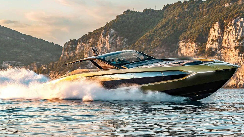 El espectacular yate desarrollado en Italia con el apoyo de Lamborghini.