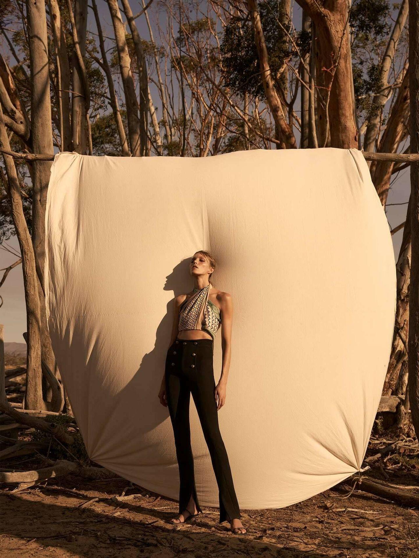 Los nuevos leggings de Zara. (Cortesía)