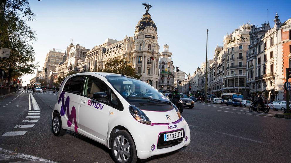 Madrid es una referencia del 'carsharing' eléctrico