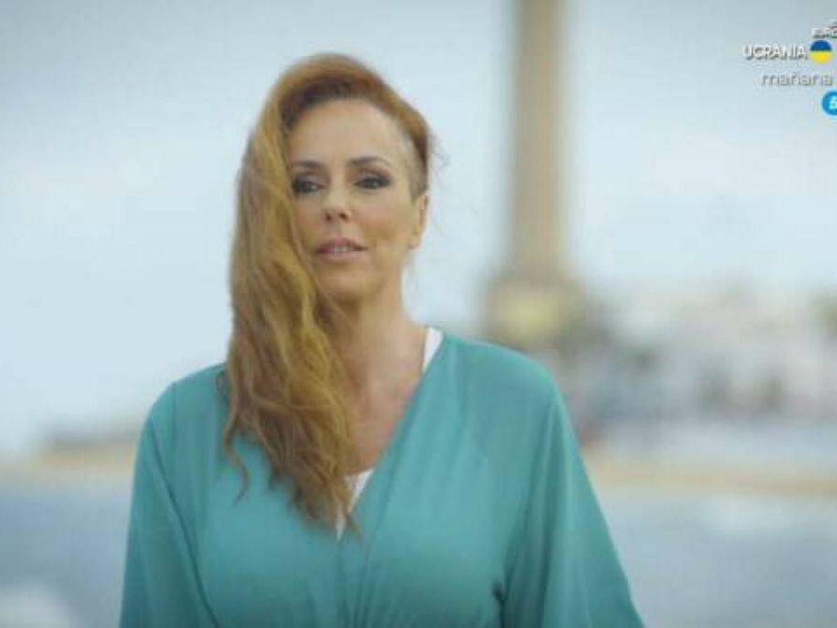 Foto: Rocío Carrasco, en 'En el nombre de Rocío'. (Telecinco)