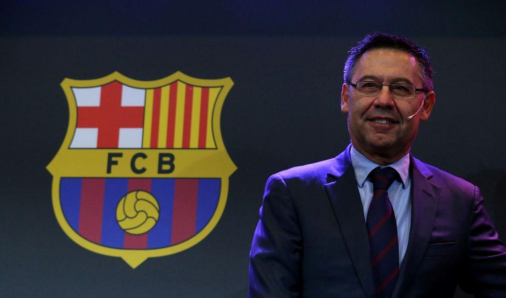Foto: En la imagen, Josep María Bartomeu, presidente del Barcelona. (Reuters)